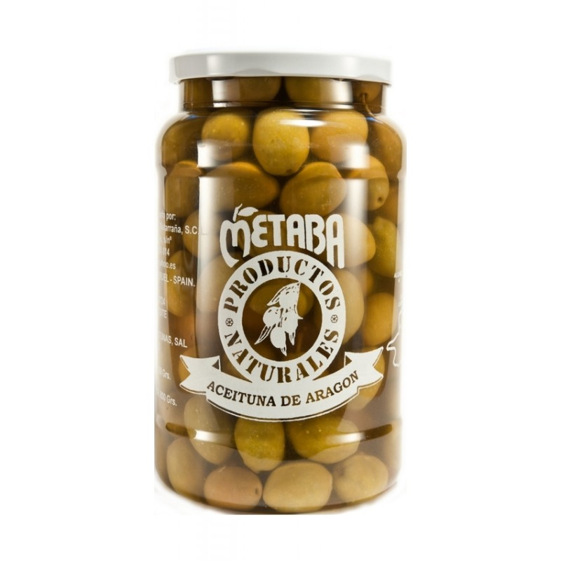Green Olive Seville Metaba 1 kg whole