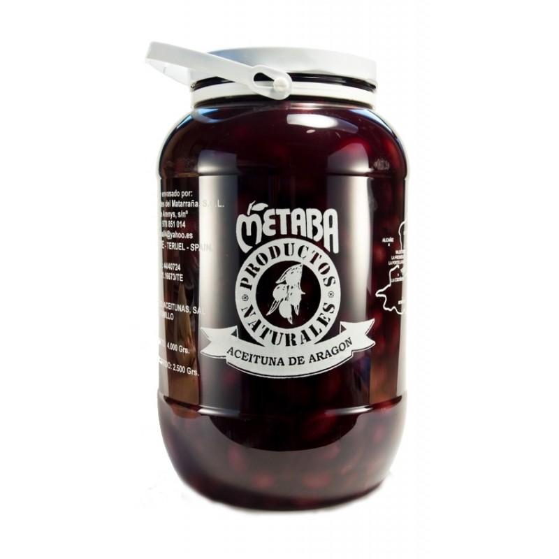 Aceituna negra Metaba 3 kg