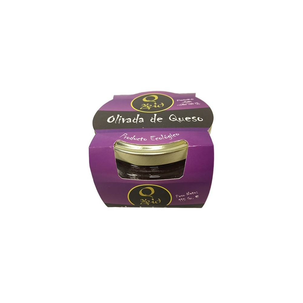 Caja de Pate de aceituna negra y queso Zeid 115 gr