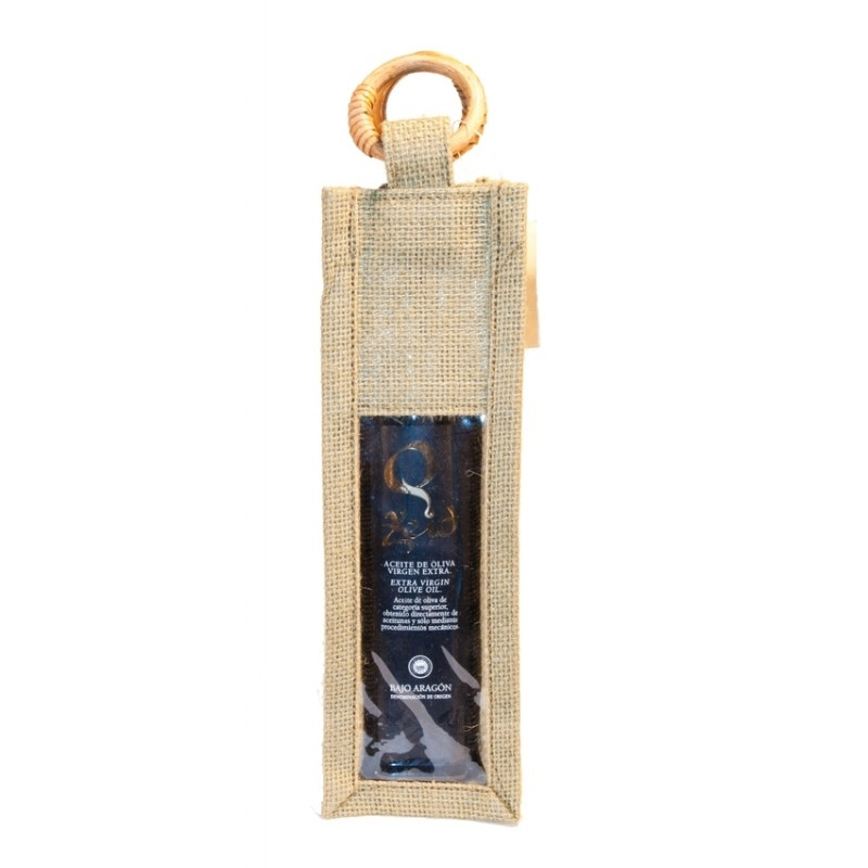 Extra Virgin Olive Oil 250 cc Zeid jute bag