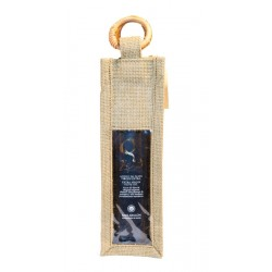 Extra Virgin Olive Oil 500 cc Zeid jute bag